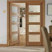 Εσωτερικές πόρτες με τζάμι
