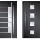 Πόρτες από πάνελ αλουμινίου