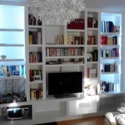 Κατασκευή βιβλιοθήκης με γυψοσανίδα